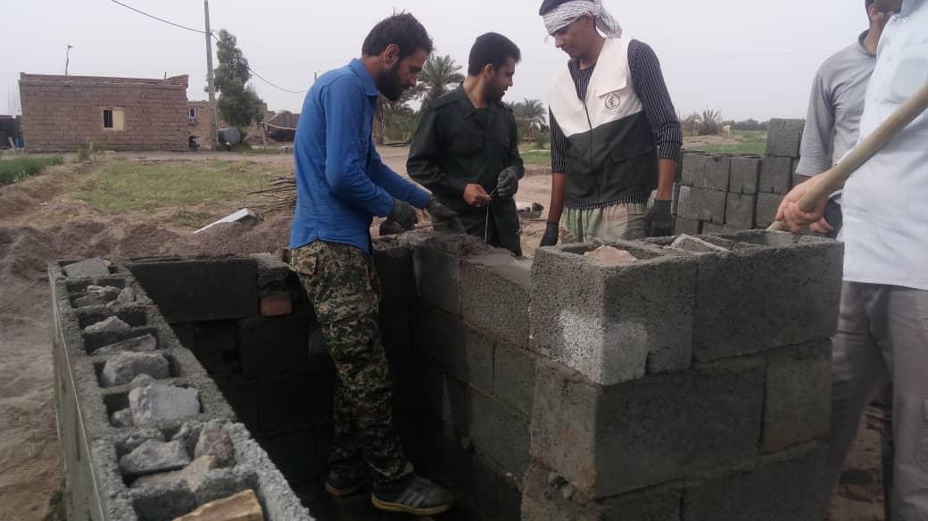 ساخت ۳۰چشمه سرویس بهداشتی در منطقه زهکلوت