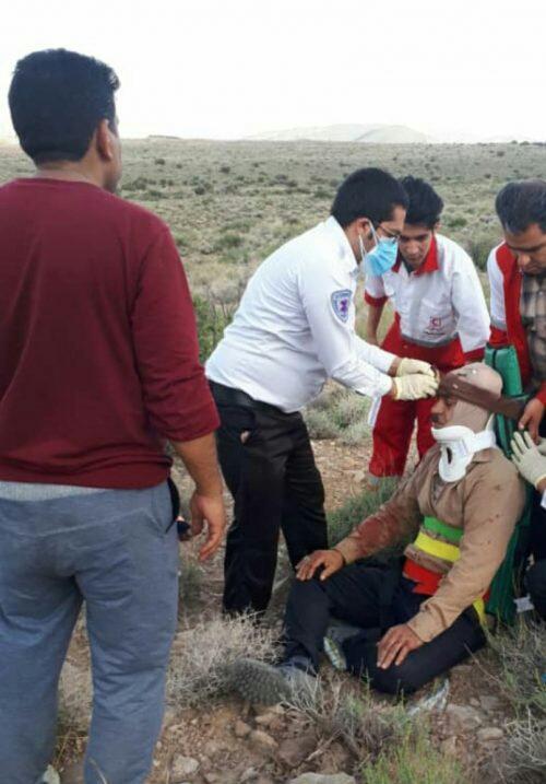 × سقوط مرد ۵۷ ساله از کوه های روستای هروز بخش کوهساران راور