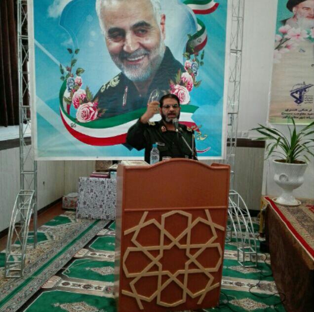 تودیع و معارفه فرمانده ناحیه بسیج شهرستان راور